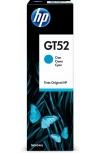 Tanque de Tinta HP GT52 Cyan, 70ml