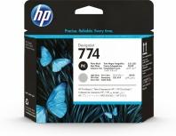 Cabezal HP 774 Paquete de 2 Piezas Negro y Gris Claro