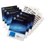 HPE Paquete de Etiquetas con Código de Barras LTO-6 Ultrium RW