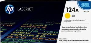 Tóner HP 124A Amarillo, 2000 Páginas ― ¡Compre y reciba 5% del valor de este producto en saldo para su siguiente pedido!