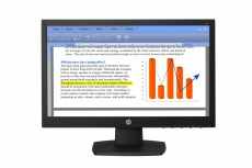 Monitor HP V194 LED 18.5'', HD, Widescreen, Negro