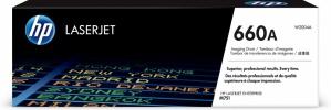 Tambor HP 660A Negro/Cyan/Magenta/Amarillo, 65.000 Páginas