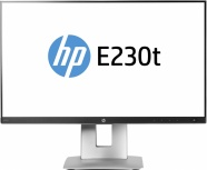 Monitor HP EliteDisplay E230t LED Touch 23'', Full HD, Widescreen, HDMI, Negro/Plata