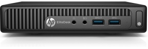 Computadora HP EliteDesk 705 G3, AMD A6-9500E 3GHz, 4GB, 1TB, Windows 10 Pro 64-bit