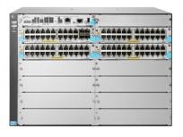 Switch HPE Gigabit Ethernet 5412R, 92 Puertos 10/100/1000Mbps + 4 Puertos SFP+, 1920 Gbit/s, 64000 Entradas - Gestionado