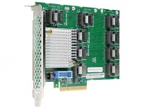 HPE Tarjeta PCI Express DL38X, 9x SAS Internos, 12Gb/s
