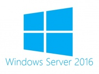 HPE Microsoft Windows Server 2016 ROK, 5 Licencias CAL, 64-bit