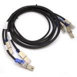 HPE Cable SAS Macho - Mini-SAS Macho, Negro