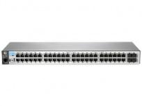 Switch HPE Gigabit Ethernet BladeSystem 2530-48G, 10/100/1000Mbps, 104Gbit/s, 52 Puertos