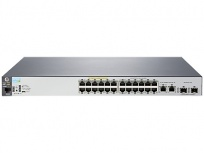 Switch HPE Gigabit Ethernet 2530-24-PoE+, 12.8 Gbit/s, 24 Puertos, 16.000 Entradas - Gestionado