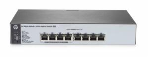 Switch HPE Gigabit Ethernet 1820-8G-PoE+ 65W, 8 Puertos 10/100/1000Mbps, 16 Gbit/s, 8000 Entradas