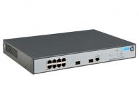 Switch HPE Gigabit Ethernet 1920-8G-PoE+ (180W), 8 Puertos 10/100/1000 Mbps + 2 Puertos SFP, 8192 Entradas, 20 Gbit/s - Gestionado