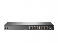 Switch HPE Gigabit Ethernet Aruba 2540, 24 Puertos 10/100/1000Mbps + 4 Puertos SFP+, 128 Gbit/s, 16.384 Entradas - Gestionado