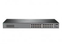 Switch HPE Gigabit Ethernet OfficeConnect 1920S 24G 2SFP, 24 Puertos 10/100/1000Mbps + 2 Puertos SFP, 52 Gbit/s, 8000 Entradas - Gestionado