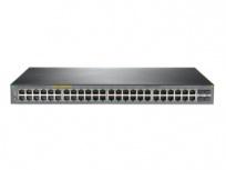 Switch HPE Gigabit Ethernet OfficeConnect 1920S 48G 4SFP PPoE+ 370W, 48 Puertos 10/100/1000Mbps + 4 Puertos SFP, 104 Gbit/s, 16000 Entradas - Gestionado