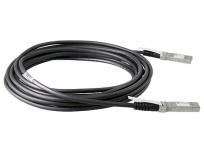 HPE Cable JW103A SFP+ Macho - SFP+ Macho, 5 Metros, Negro