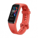 Huawei Smartband Band 4, Touch, Bluetooth 4.2, Android/iOS, Rojo - Resistente al Agua