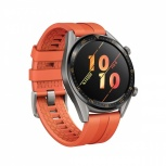 Huawei Smartwatch GT Active, Touch, Bluetooth 4.2, Android 9.0/iOS 9.3, Naranja- Resistente al Agua