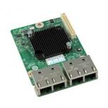 Intel Tarjeta de Red AXX4P1GBPWLIOM de 4 Puertos, 1000Mbit/s, USB