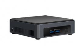 Mini PC Intel NUC NUC7i5DNKPC, Intel Core i5-7300U 2.60GHz, 8GB (2 x 4GB), 256GB SSD, Windows 10 Pro 64-bit