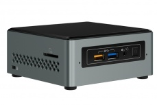 Mini PC Intel NUC Kit NUC6CAYSL, Intel Celeron J3455 1.50GHz, 2GB, 32GB, Windows 10 Home 64-bit
