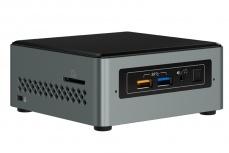 Mini PC Intel NUC Kit NUC6CAYSL, Intel Celeron J3455 1.50GHz, 2GB, 32GB, Windows 10 Home 64-bit