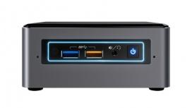 Mini PC Intel NUC7I5BNHX, Intel Core I5 7260U, 4GB, 16GB Optane, 1TB, Windows 10 Home 64-bit
