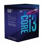 Procesador Intel Core i3-8350K, S-1151, 4GHz, Quad-Core, 8MB Smart Cache (8va. Generación Coffee Lake) ― Compatible solo con tarjetas madre serie 300