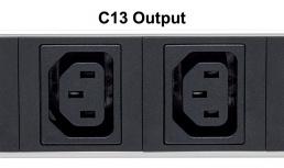 """Intellinet PDU para Rack 19"""", 16 A, 110-240V, 8 Contactos"""
