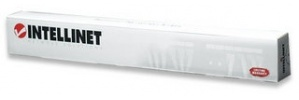 Intellinet Organizador Horizontal de Cables Metálico para Rack/Gabinete 19'', 1U, 5cm