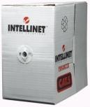 Intellinet Bobina de Cable Cat5e UTP, 305 Metros, Sólido, Gris