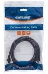 Intellinet Cable Patch Cat6 UTP, RJ-45 Macho - RJ-45 Macho, 50cm, Negro