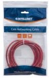 Intellinet Cable Patch Cat6 UTP RJ-45 Macho - RJ-45 Macho, 1.5 Metros, Rojo