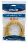 Intellinet Cable Patch Cat6 UTP RJ-45 Macho - RJ-45 Macho, 1 Metro, Amarillo