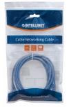 Intellinet Cable Patch Cat6 UTP 100% Cobre, RJ-45 Macho - RJ-45 Macho, 50cm, Azul