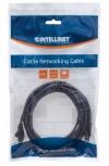 Intellinet Cable Patch Cat6 UTP RJ-45 Macho - RJ-45 Macho, 5 Metros, Negro