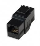 Intellinet Adaptador Cat6 8P8C Macho, Negro