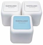 Intellinet Router con Sistema de Red WiFi en Malla AC1200, 1200 Mbit/s, 3x RJ-45, 2.4/5GHz, 4 Antenas Internas de 3dBi