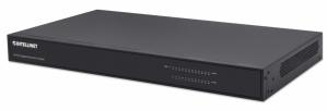 Switch Intellinet Gigabit Ethernet 561471, 24 Puertos 10/100/1000Mbps, 48Gbit/s, 8192 Entradas - No Administrable