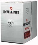 Intellinet Bobina de Cable de Red Cat5e UTP, 305 Metros, Gris