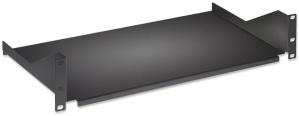 Intellinet Charola Fija para Rack 40cm, 2U, hasta 25kg, Negro