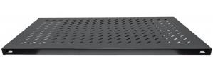 Intellinet Charola Fija para Gabinete 90cm, 1U, hasta 50kg, Negro