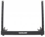 Intellinet Rack Abierto de 2 Postes, 19'', 8U, Negro