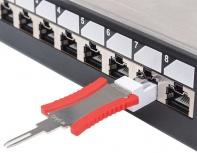 Intellinet Llave de Desbloqueo para Panel de Parcheo, RJ-45