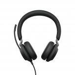 Jabra Auriculares Evolve2 40 UC Stereo, Alámbrico, USB A, Negro