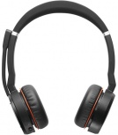 Jabra Audífonos con Micrófono Evolve 75, Inalámbrico, Bluetooth, USB, Negro