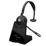 Jabra Monoaural Engage 75 Mono, Inalámbrico, DECT, USB, Negro