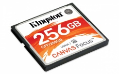Memoria Flash Kingston Canvas Focus, 256GB CompactFlash