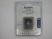 Memoria Flash Kingston CH103KNG60, 1GB MiniSD