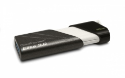 Memoria USB Kingston DataTraveler Elite, 16GB, USB 3.0, Lectura 70MB/s, Escritura 30MB/s, Negro/Blanco